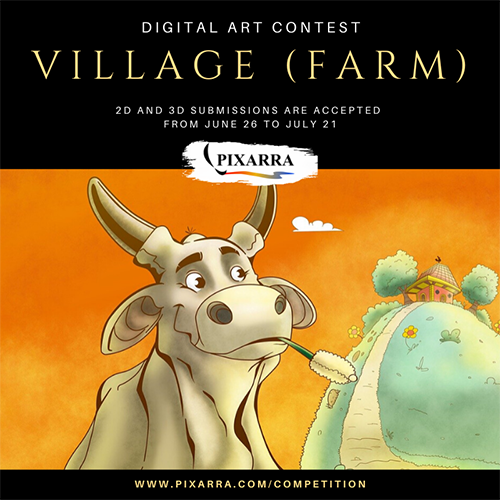 Village / Farm Digital Art Contest